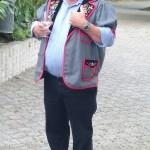 Niklaus Jakober beim Vortrag über das Alphorn